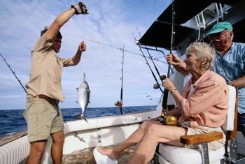 A licensed captain can receive income from charter fishing trips.