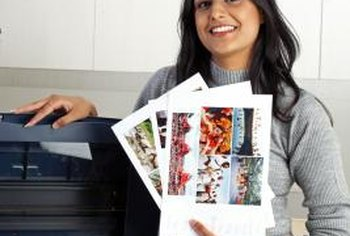 Scan and email pictures directly on the Brother printer.