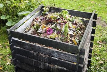 It's possible to compost during winter.