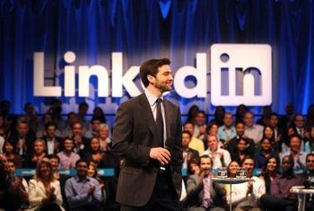 LinkedIn helps you network with contacts in and out of your organization.