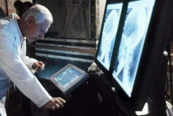 Sophisticated modern X-ray machines require highly skilled service personnel.
