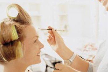 Motion picture and video is the highest paying industry for a makeup artist, the BLS reports.