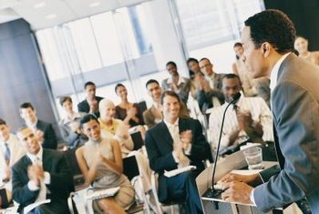 A well-attended conference is a great marketing tool for your business.