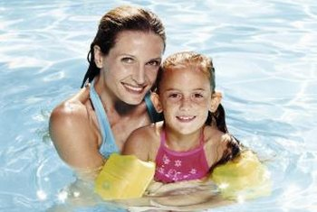 Fiberglass pools provide cool relief from the summer heat.