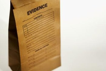 Criminalists use scientific methods in the laboratory to uncover the truth in criminal proceedings.