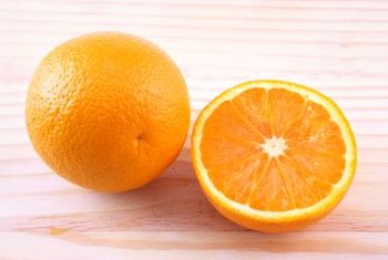 A substance found in oranges and their peels repels insects.