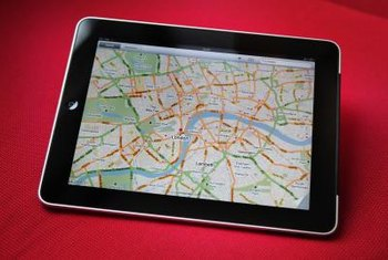 An iPad can be tracked when Location Services is enabled.