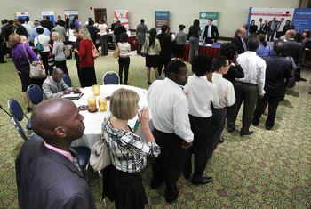 A well-crafted resume helps students compete with experienced candidates at job fairs.