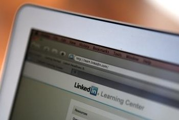 Approach potential employers with a LinkedIn message.