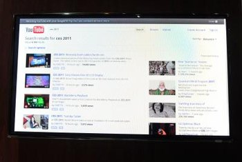 Google TV users can use Chrome to browse sites like YouTube.