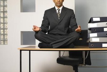Use breathing and stretching exercises to ease interview anxiety.