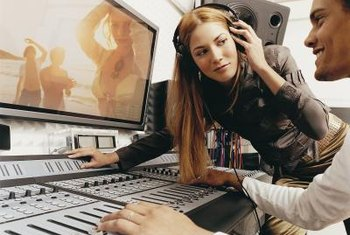 Recording studio assistants earn more in New York than anywhere else.