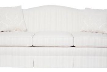 Start with a classic sofa in your shabby-chic living room.