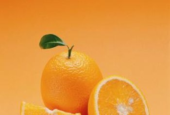 Orange trees can take several years or more to produce fruit.