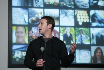 Mark Zuckerberg, Facebook's CEO, leads the initiative against inappropriate Facebook photos.