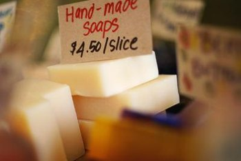 Handmade soap can be expensive.