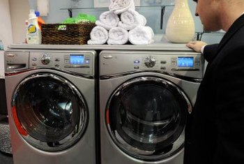 Front-loading washing machines can have seals that fail, which causes leaks during the laundry cycle.