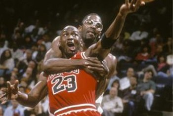 NBA legend Michael Jordan is arguably the best shooting guard of all-time.