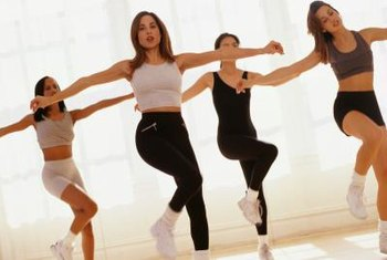 Your one-month workout plan should include cardio exercise like aerobics.