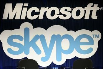 Microsoft's Skype service requires significant bandwidth for calls.