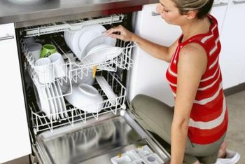 Stainless steel dishwashers are quieter.
