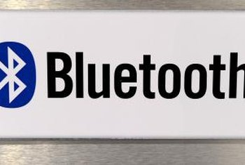 If the Bluetooth logo isn't on your desktop, you can add the functionality.