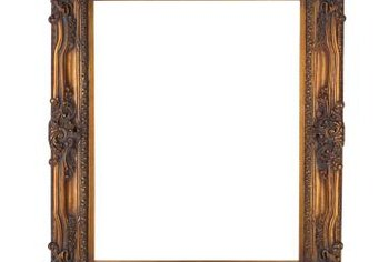 Framing your auction listing image with a border can catch buyers' eyes.
