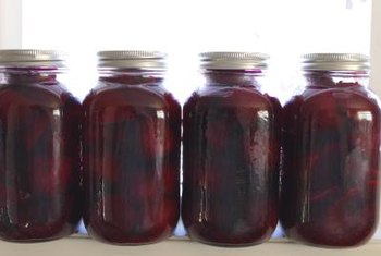 Pickled beets are a good source of fiber.
