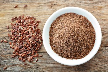 Ground flaxseed is an excellent source of dietary fiber.