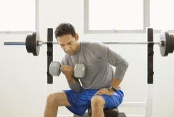 Weight training builds muscle mass, which can increase your weight.