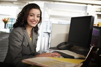 Start a career as a legal receptionist.