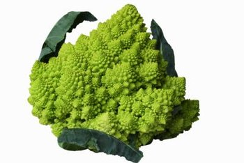 Romanesco has a mild, nutty flavor and an interesting shape.