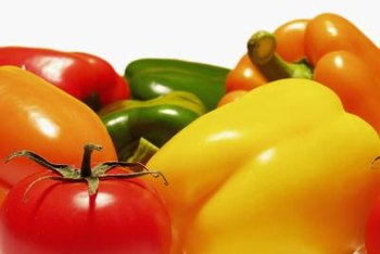 Large bell peppers can weigh down the branches causing them to break.