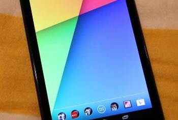 Reset your Nexus 7 to solve technical difficulties and restore your device to its original settings.