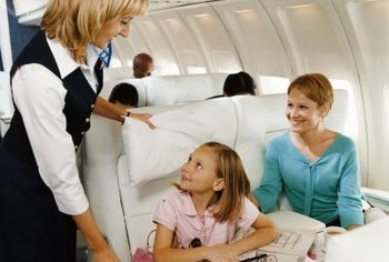 In addition to ensuring passenger comfort, flight attendants are responsible for safety and security on their aircraft.