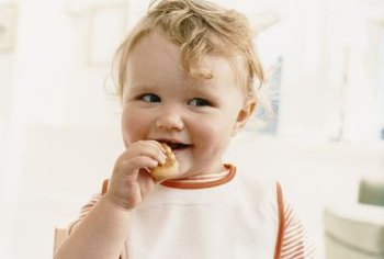 Older infants may be ready for finger foods.
