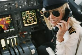 Instructors train pilots to use navigational equipment and gauges.