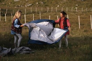 Tarps and ground cover mats are effective for killing weeds.