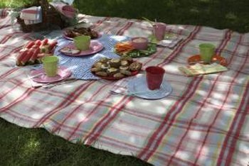 Enjoy your thick, lush lawn with a picnic.