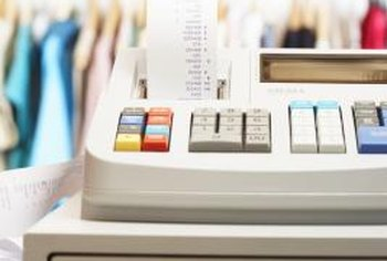 Programmable cash registers automatically apply sales tax to applicable items.