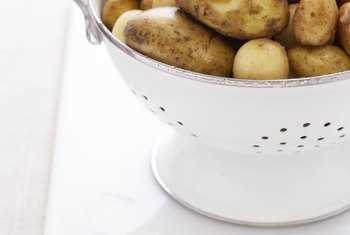 Potatoes are a good source of nutrients like vitamins, minerals and antioxidants.