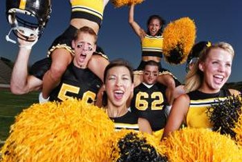 Cheerleading and football top the list of most dangerous sports.