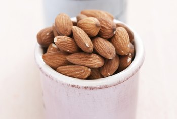 Snack on raw almonds for a tighter, more toned tummy.
