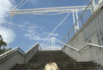 Stair climbing feels more difficult than walking, but the benefits are the same.