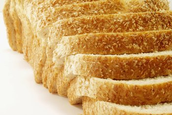 Eat plenty of enriched bread on a low-purine diet.