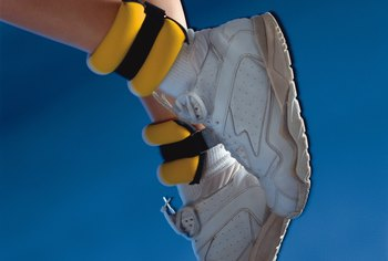 Ankle weights add load to vulnerable joints.