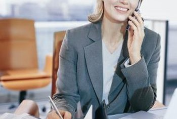 A phone interview can be an efficient way to vet a prospective employee.