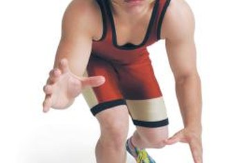 Youth wrestlers should develop core strength for balance.