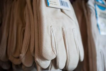 Heavy cloth or leather gloves are the best choice to prevent blisters.