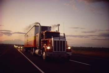 Truck freight brokers arrange loads and transportation for their clients.